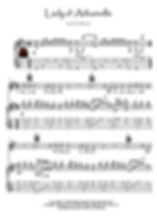 Lady D'Arbanville guitar score Stevens