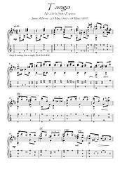Tango by Albeniz guitar solo