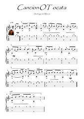 Cancion O Tocata by Santagio de Murcia score download