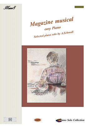 Magazine Musical Easy Piano Solo Sheet Music Pdf Mp3 Schuman,  Kozeluch
