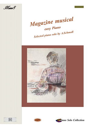 Magazine Musical Selected piano works by Anton Schmoll sheet music