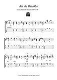 Classical Guitar Hits Air De Rinaldo by Handel
