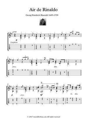 Classical Guitar Hits - Air de Rinaldo