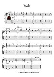 Classical guitar solo - Vals