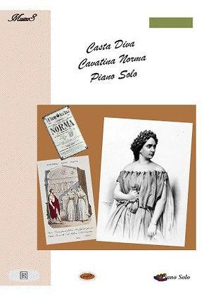 Casta Diva by Bellini piano solo sheet music
