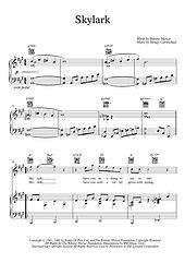 Skylark Flute Piano duet Mercer