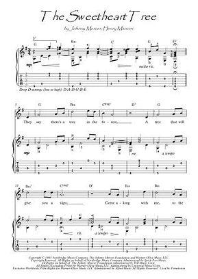 The Sweetheart Tree guitar fingerstyle score download
