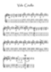 Valse Criollo guitar score Piaff