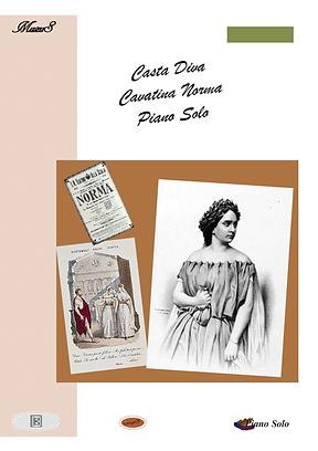 Casta Diva Opera Piano Solo Sheet Music Pdf Mp3 Bellini