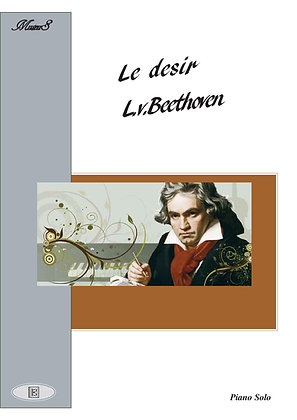 Le Desir by Beethoven piano solo sheet music