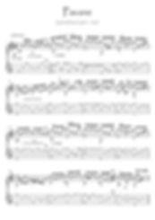 Pavane by Gabriel Faure guitar solo
