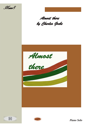 Almost There piano solo sheet music
