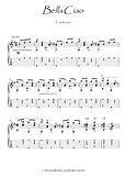 Bella Ciao guitar fingerstyle score download