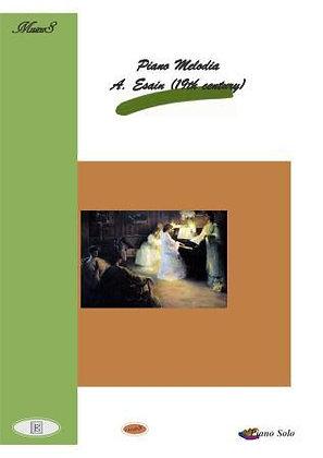 Piano Melodia 19th century music score download in pdf