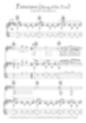 Poinciana (song Of The Tree) guitar fingerstyle guitar score downlaod