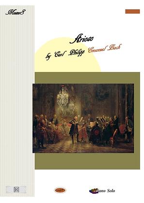 Arioso by C.P.E. Bach piano solo sheet music