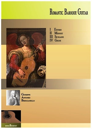 Romantic Baroque Guitar by Brescianello score download