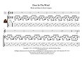 Dust In The Wind Guitar Solo Sheet Music by Kansas