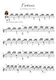 Fantasia advanced classical guitar tremolo