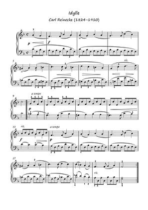 Ave Maria - Idylle piano solo sheet music