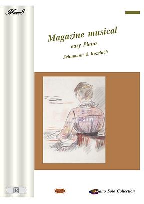 Magazine Musical Easy Piano Romances Sheet Music Piano Solo Pdf Mp3 Beethoven,  Hummel, Kozeluch, Czerny