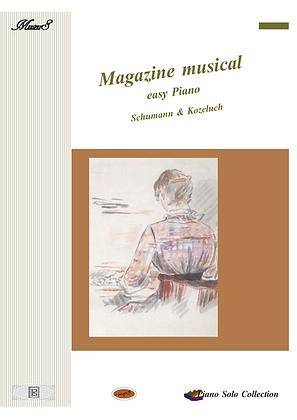 Magazine Musical easy Piano solo sheet music