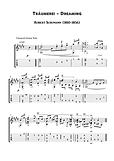 Traumerei Guitar Solo Sheet Music Schumann