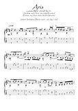 Bach BWV 248 No 31 guitar solo