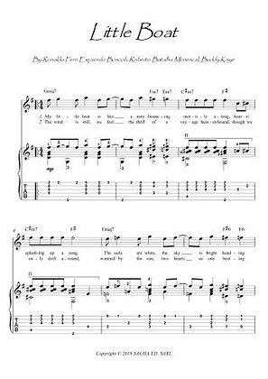 Little Boat OBarquinho guitar score download