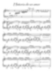 Historia de un amor piano sheet music by Almaran Almaran