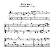 Close To You Pasillio Piano Solo Sheet Music Pdf Mp3 Pino
