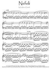 Nefeli piano solo by Einaudi