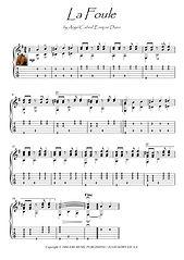 La Foule Edith Piaf guitar solo