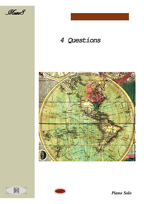 Four Questions by Pino piano solo sheet music