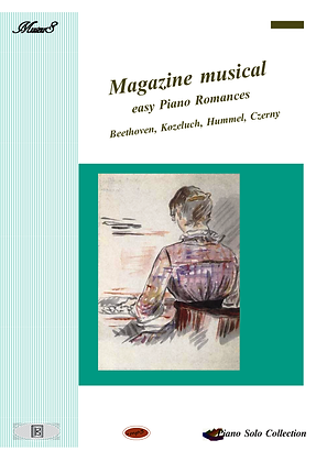 Magazine Musical Easy Piano Romances sheet music