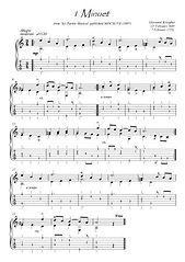 Baroque music for Guitar solo score download