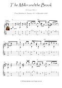 The Miller and the Brook classical guitar solo by Schubert