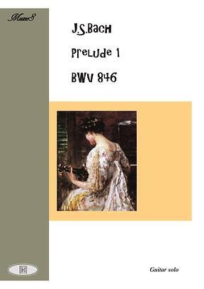 Prelude 1 Bwv 846 Guitar Solo Sheet Music Bach