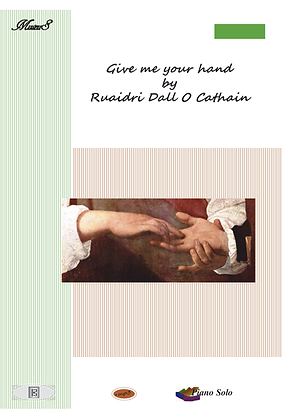 Give me your hand piano solo sheet music