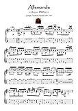 Allemande by Handel guitar solo downlaod