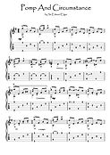 Pomp And Circumstance guitar fingerstyle