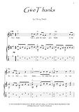 Give Thanks guitar fingerstyle score