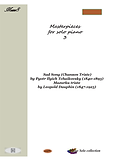 Masterpieces For Solo Piano 3 Pdf Mp3 Tchaikovsky Dauphin