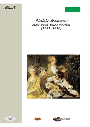 Plaisir d'amour by Martini piano solo sheet music