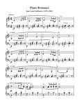 Piano Solo Romance Sheet Music Pdf Mp3 Gobbaerts
