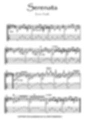 Serenata Guitar solo by Toselli