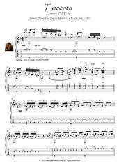 Bach Toccata guitar solo