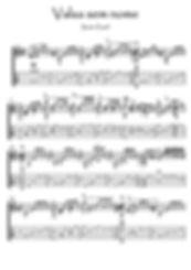 Valsa sem nome guitar sheet music download Powell Baden