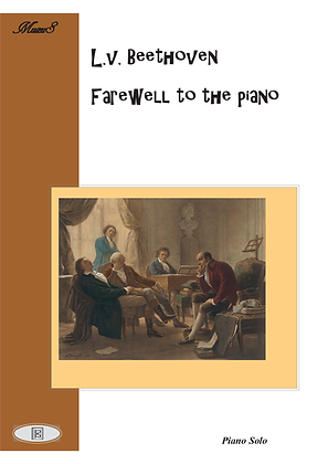 Farewell to the Piano by Beethoven piano solo sheet music