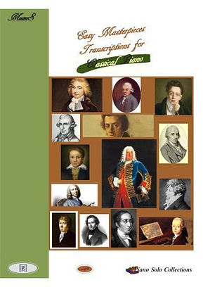 18 Classical Piano Solo Works Sheet Music Dussek, Chopin, Beethoven, Mendelson, Hummel, Schubert, CPE Bach, ClementI, Rameu, Steibelt, Handel, Weber, Mozart